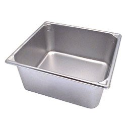 VOLLRATH 30162 Pan, Two-Thirds Size, 14 Qt