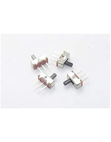SK-12F14 3Pin 2Way Side Slide Switch Single Row Horizontal Toggle Switches 1P2T