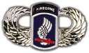 US Army 173rd Airborne Wings Lapel Pin