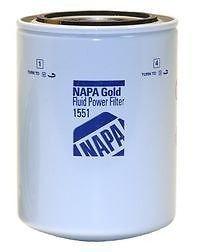 "Napa Gold 1551 Spin-On Hydraulic Filter - 5.2X3.66"", 1-12THREAD"
