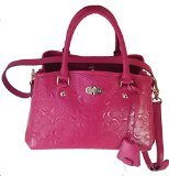 Coach Pink Patent Leather Bag - 5