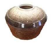 Basket Weave Mocha Sand 2.5 Qt. Steamer (Wright Steamer)