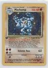 Pokemon - Machamp (Pokemon TCG Card) 1999 Pokemon Base Set Booster Pack [Base] 1st Edition #8