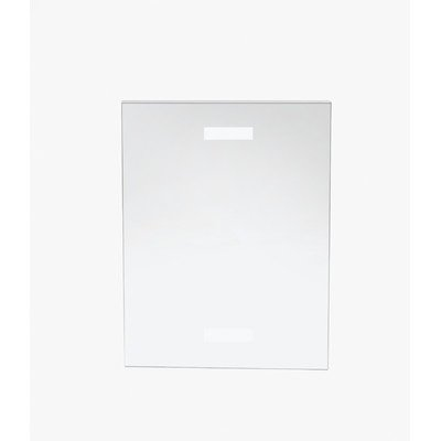 Cal-Mil 214 Wall Mounted U-Style Holder.25'' Length x 8.5'' Width x 11'' Height, Clear (Pack of 12) by Cal Mil (Image #1)