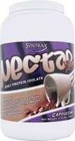 Syntrax Nectar Whey Protein Isolate Powder Cappuccino -- 2 lbs (Quantity of 1)