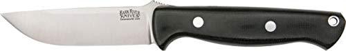 Bark River Gunny Black Canvas Micarta (Best Bark River Knife For Hunting)
