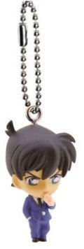 Case Closed Great Detective Conan 2016 Gashapon Keychain Figure ~1.5″ – Kudou Shinichi