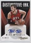 Mike Muscala #2/199 (Basketball Card) 2015-16 Panini Prestige - Distinctive Ink Signatures (Dimm Card)