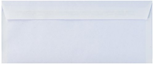 Mead Security Envelopes Self Sealing White