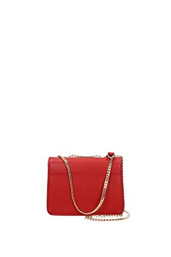 jc4305pp06kt0 Poliuretano Donna A Moschino Love Tracolla Rosso Borse g4vSq
