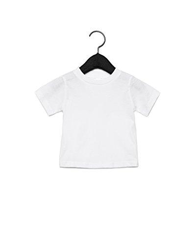 Bella Canvas 3001B Baby Short Sleeve Tee White inLTkkelc
