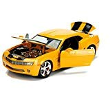 Transformers Bumblebee 2006 Chevy Camaro Concept Die-cast Car, 1:24 Scale Vehicle, Yellow