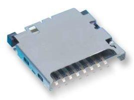 Hirose (hrs) dm3d-sf Conector, Micro SD, push-pull, estándar, 8 ...
