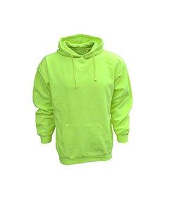 (Bright Shield BS ANSI COMPL PULLVR FLC Hood, Safety Green, M)