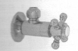 Santec 9009NX56 SUPPLY & STOP Bright Victorian Bronze Deluxe angle stop w/ NX handle