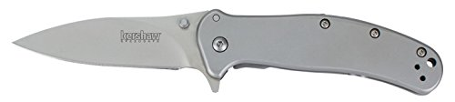 Kershaw 1730SS Stainless Steel Zing Knife with SpeedSafe