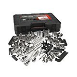 40 Piece Socket Tool (Craftsman 230-Piece Silver Finish Standard Metric Mechanics Tool Set 230 pc #165)