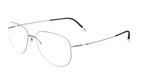 (Eyeglasses Silhouette Dynamics Colorwave Full Rim 5507 6610 titanium/clear 55/17 )
