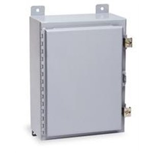 12 Wall Mount Nema - Wiegmann N12242406 N12-Series NEMA 12 Wallmount One Door Enclosure, Steel, 24