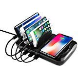 NEXGADGET Charging Station Quick Charge 3.0 Type C for Cellphone Tablet