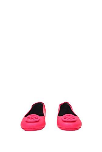 Uk Burch Leather Tory Pink 37388 Minnie Travel Flats Ballet Women 8qdnq6Y
