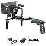 FILMCITY Shoulder Rig Kit for Blackmagic Cinema Camera / Production Camera 4k (FC-05) | BMCC Cage Rig Matte box Follow Focus Accessories