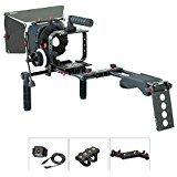 FILMCITY Shoulder Rig Kit for Blackmagic Cinema Camera / Production Camera 4k (FC-05)   BMCC Cage Rig Matte box Follow Focus Accessories by FILMCITY