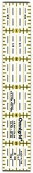 - Dritz 81435 Omnigrid Quilters Ruler-1 in. x 6 in.