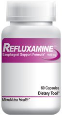 Refluxamine Episodic Heartburn Relief Formula. All-Natural Refluxamine Helps Relieve Episodic Heartburn, Acid Indigestion, and Upset Stomach. 3 Bottles - Direct from Manufacturer.