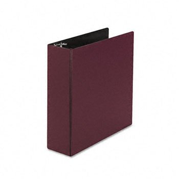 Durable Binder with Slant Rings, 3'' Capacity, Maroon, Sold as 1 (Burgundy Durable Round Ring)