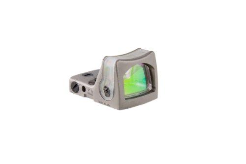 Trijicon RM08-C-700066 RMR 12.9 MOA Dual-Illuminated Green Triangle Sight, Nickel Boron