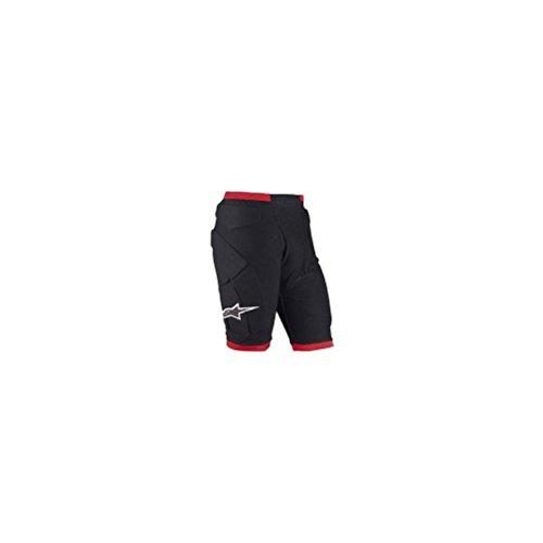 Alpinestars Comp Pro Men's Undergarment Off-Road Body Armor, Black/Red, X-Large -