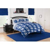 - Kentucky Wildcats Twin Comforter & Sheet Set, 4 Piece NCAA Bedding