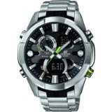 Casio ERA-201D-1AVEF Mens Edifice Black Silver Combi Watch