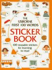 First One Hundred Words Sticker Book, Heather Amery and Stephen Cartwright, 074602116X