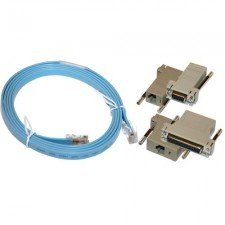 Cisco Acs Console - Auxiliary Console Port 3 Piece Cable Kit for Cisco ACS-2500ASYN by LinkCable