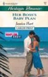 Her Boss's Baby Plan (Harlequin Large Print (Numbered Paperback))