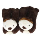 Wishpets Stuffed Animal Slippers Plush Cute Fuzzy Funny Indoor Home Shoes for Men Women and Kids - Sea -