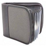 UPC 091141619039, Advantus CD Wallet Holds 24 CDs, Black/Gray