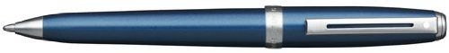 Sheaffer Prelude Ball Point, Blue Shimmer/Nickel Plated Trim with Blue Refill (SH/9135-2) by Sheaffer