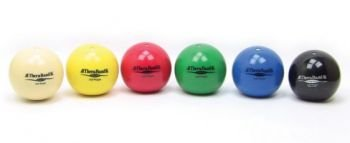Thera-Band Soft Weights - Set of 6 (1 of Each Weight) - Each 4.5'' Diameter - For Hand Exercise and Therapy by TheraBand