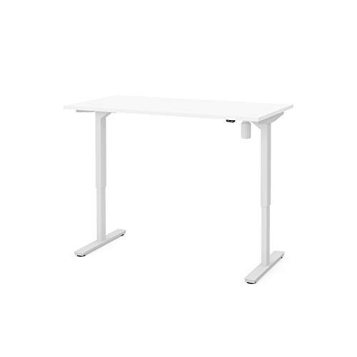 Image of Electric Height Adjustable Table in White