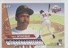 (Dave Winfield Minnesota Twins 1993 Fleer Ultra #589)
