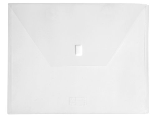Lion Design-R-Line Poly Oversized Project Envelope, 11 x 14 Inches, Clear, Pack of 6 (60200-CR-6P)