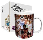 Norman Rockwell Golden Rule Gift Boxed Ceramic Mug