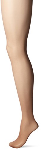 Hanes Silk Reflections Women's Lasting Sheer Control Top, Barely There, A/B ()