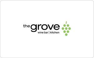 The Grove Wine Bar and Kitchen Gift Card ($175)