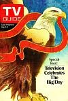 1976 Tv Guide - Tv Guide July 3 1976 Special Issue Television Celebrates the Big Day Bald Eagle on Cvr