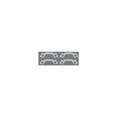 Eckler's Premier Quality Products 57-135539 Chevy Exhaust Manifold Bolt French Lock Set, Stainless Steel, Small Block,