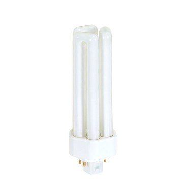 ((Pack of 10) Satco S8347, 3500K 26-Watt GX24q-3 Base T4 Triple 4-Pin Tube for Electronic and Dimming Ballasts, Compact Fluorescent Bulb)